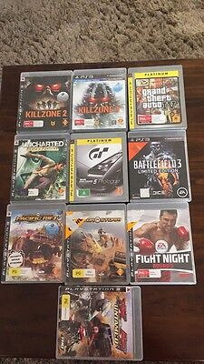 PS3 Games..... 10 Games In Total