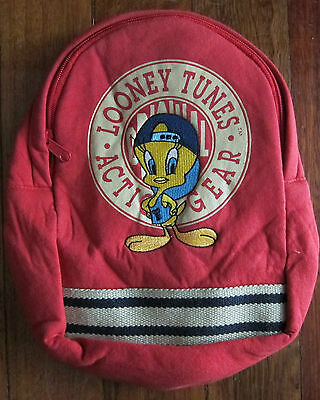 Warner Bros. Tweety Small Cloth Backpack Official Looney Tunes Product