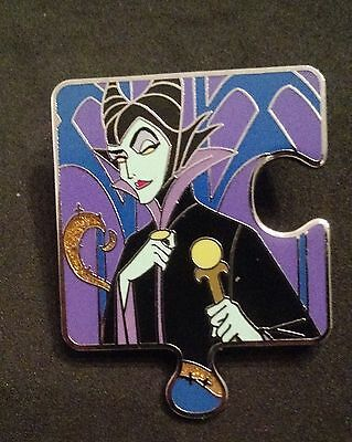 Disney Sleeping Beauty Character Connection Maleficent Puzzle Pin