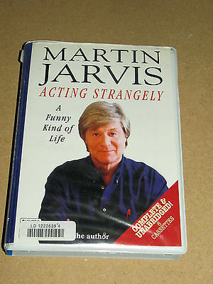 Martin Jarvis Acting Strangely Tapes (Six) 1999 Audio Books Read By The Author