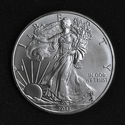 2011 American Silver Eagle One Dollar 1 oz Coin - Walking Liberty