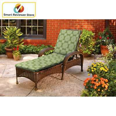 Outdoor Chaise Cushion Fits most chaise patio lounge By Better Homes and Gardens