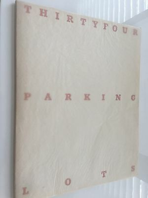Ed Ruscha: THIRTYFOUR PARKING LOTS, 2nd Edition, mit orig. Cover