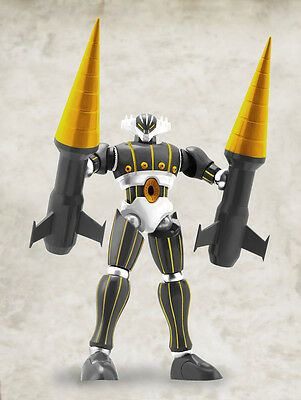 Evolution Toy Steel Jeeg Dynamite Action No. 20 Jeeg Black Color Ver nuovo new