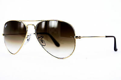Ray-Ban Sonnenbrille/Sunglasses AVIATOR LARGE METAL RB3025 001/51 55[]14 2N #*
