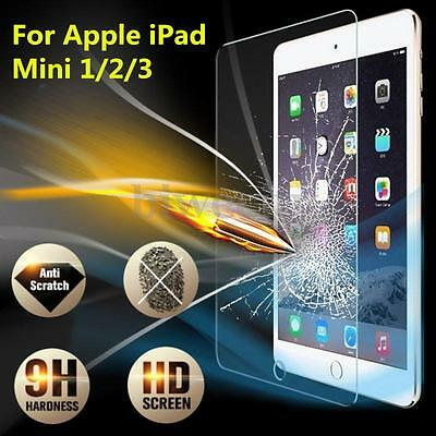 9H Tempered Glass Screen Protector Film For Apple iPad 2 3 4 5 6 Air Pro Mini
