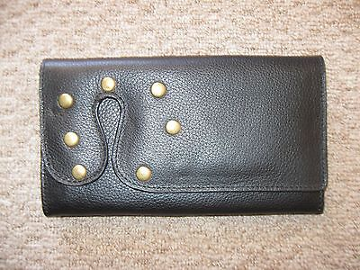 'fossil' Black Leather Wallet  Brand New  Rrp $148