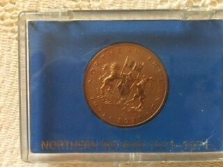 Northern Ireland 1921 - 1971 boxed coin