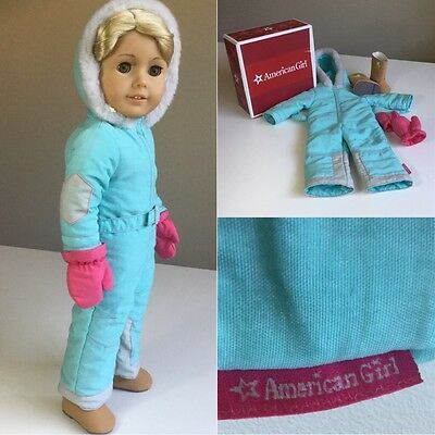 "Authentic American Girl 18"" Doll Clothes Snowsuit Set Fit Our Generation"
