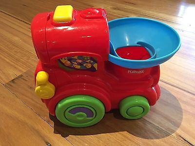 Playskool Battery Operated Train (no Balls) Plays Music