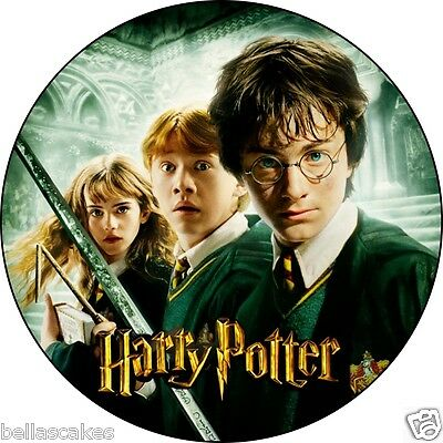 Eßbar Tortenaufleger Harry Potter DVD NEU Dekoration Tortenbild backen buch cd