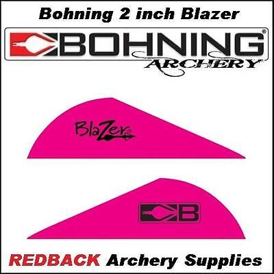 36 Bohning Blazer PINK 2 inch for arrows archery hunting