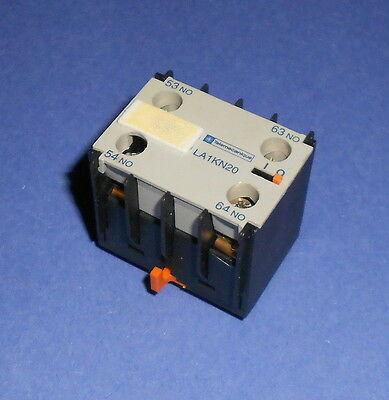 Telemecanique  LA1KN20  Auxiliary Contact Block 10 Amp  Super Fast Shipping