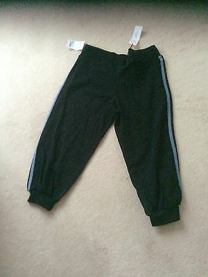 Brand new Elle black workout tracksuit bottoms size L 14/16 Christmas present?