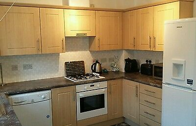 kitchen light oak style door and drawer fronts