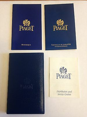Piaget International Guarantee --BLANK--