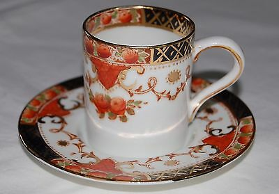 Sutherland China Roses Border Vintage Coffee Cup and Saucer
