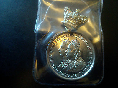 Celebration Of The Queens Diamond Jubilee At Hull June 22Nd 1897 Medal ???