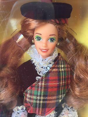 1991 Scottish Barbie Doll 2nd Edition - Dolls of The World Collection- NRFB