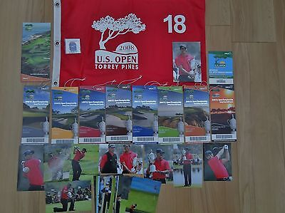 GOLF U.S.OPEN 2008 TORREY PINES TIGER WOODS memorabilia