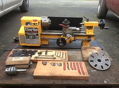 Clarke Metalworker CL300M Variable Speed Metal Lathe and Plenty of Accessories.