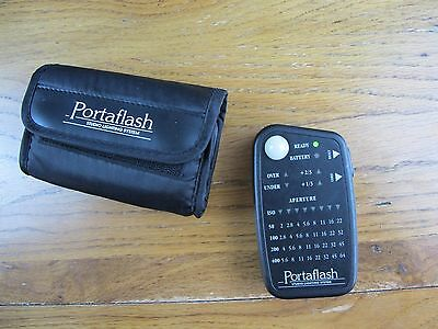 Portaflash Studio Light / Flash Meter in Soft Case - Easy to use & very compact