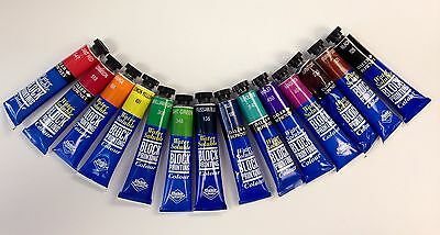 Daler Rowney Water Soluble Block Printing Colour - Various Colours Available