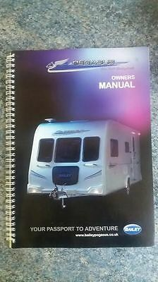 Bailey pegasus caravan owners manual