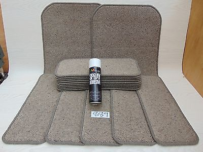 Stair pads / treads 14 off and 2 Big Mats with a FREE can of SPRAY GLUE  889-4