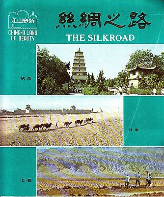 China A Land of Beauty The Silk Road Vintage Guidebook