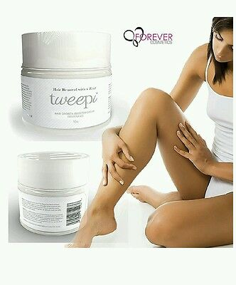 Tweepi Hair Growth Inhibitor Cream- Permanent Body and Face Hair Removal - Mode