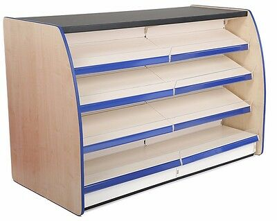 Shop Counter 1000Mm Long Retail Shelving Supermarket Display Counter