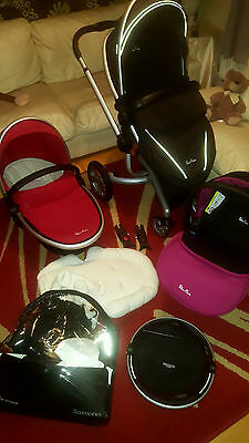 Silver Cross Surf pram travel system with car seat 3 in 1