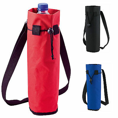 New Insulated Bottle Cool Bag With Strap - Picnic Drinks Carrier / Wine Cooler