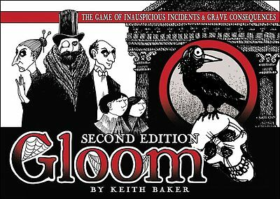 Gloom Second Edition card game, brand new