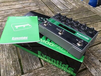Eventide Modfactor boxed with manual , perfect in every way!! mod your Modular