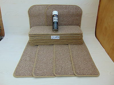 Stair pads/ treads 60cm 18 off and 2 Big Mats with a FREE can of SPRAY GLUE 2053