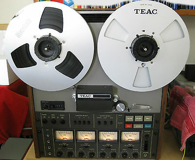 "Teac A3440 Simul-Sync 4-Track, 4-Channel Reel-to-Reel 1/4"" Tape Recorder"
