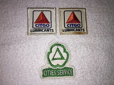 Cities Service/ Citgo Patches