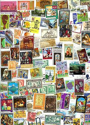 New Zealand Stamps 100 All Different