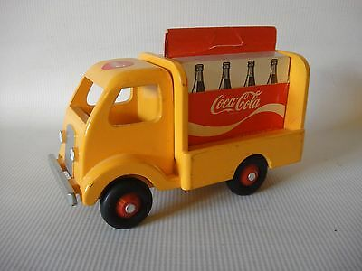 J. Harold Ford Original Wooden Coca-Cola Card Truck VERY RARE only 20 made 1987