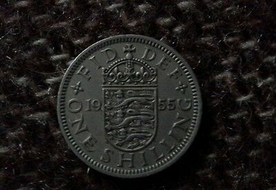 One shilling coin