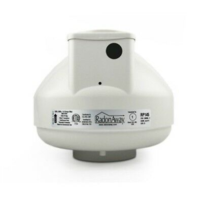 "NEW RadonAway Model RP145 4"" Radon Mitigation Fan/Pump 23030-1"