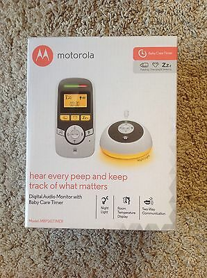 Motorola Digital Audio Monitor with Baby Care Timer MBP161TIMER