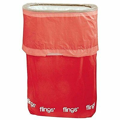 Apple Red Fling Bins