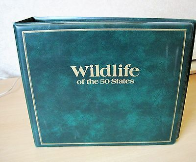 USA STAMPS - Wildlife of the 50 States First Day Covers with Certificate