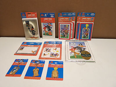 Looney Tunes Lot Stamp Collection Key Rings Foil Notecards Transfers & Others