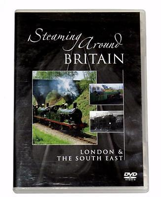 Dvd Steaming Around Britain London & The South East Steam Railways Archive Film