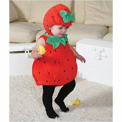 Beautiful Babies Baby Strawberry Costume - 6-12 months -