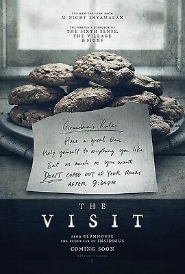 The Visit (a), Original UK One Sheet Movie Poster